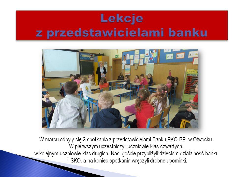 Lekcje z przedstawicielami banku