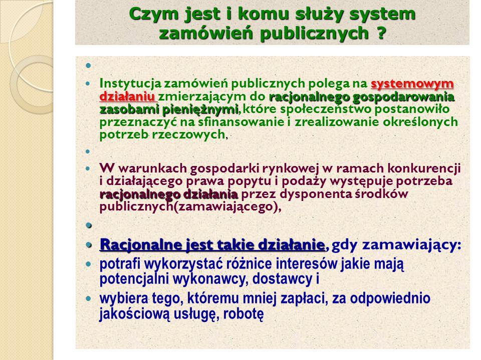 Czym jest i komu służy system zamówień publicznych