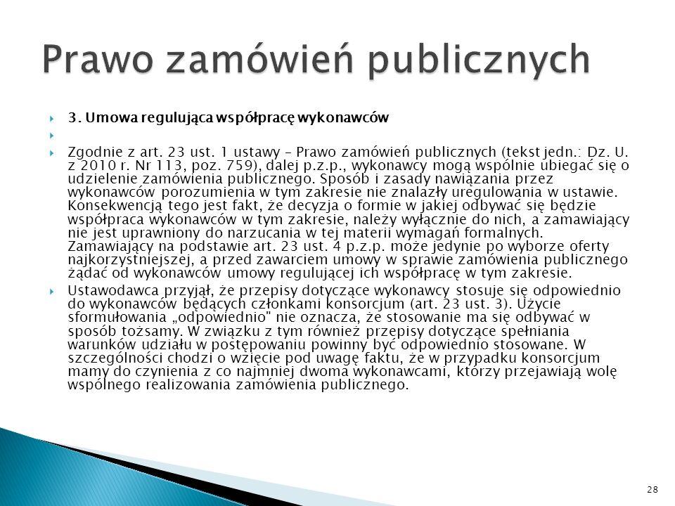 Prawo zamówień publicznych