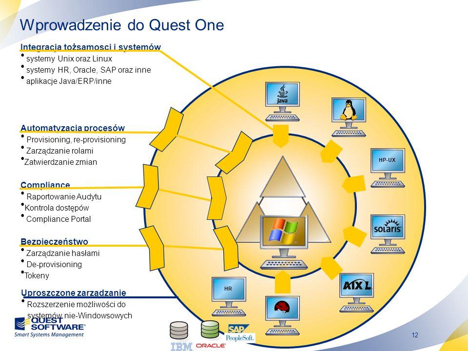 Wprowadzenie do Quest One