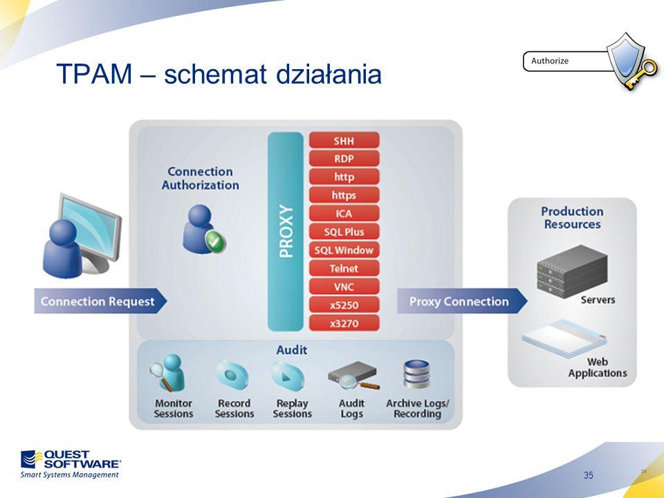 TPAM – schemat działania