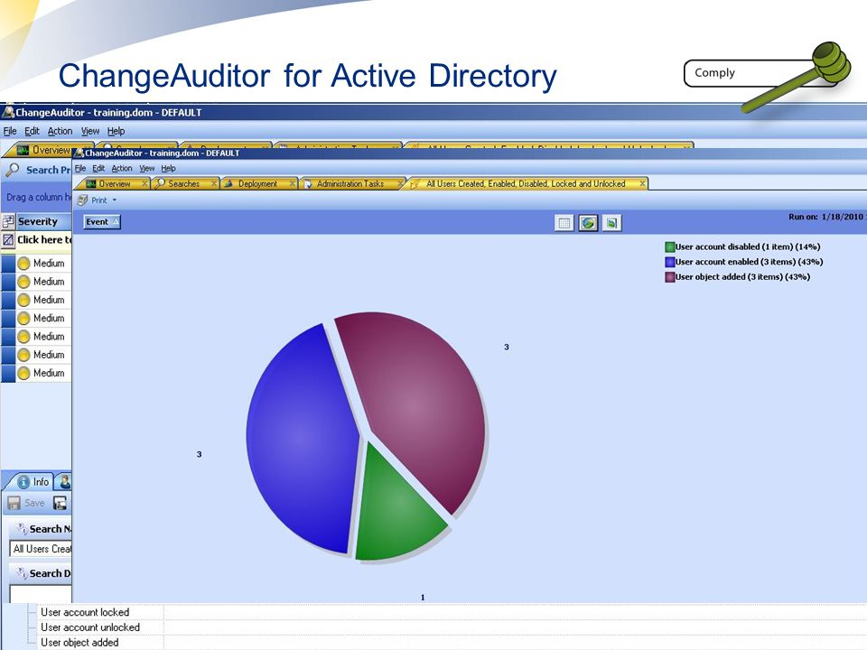 ChangeAuditor for Active Directory