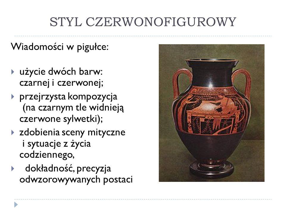 STYL CZERWONOFIGUROWY