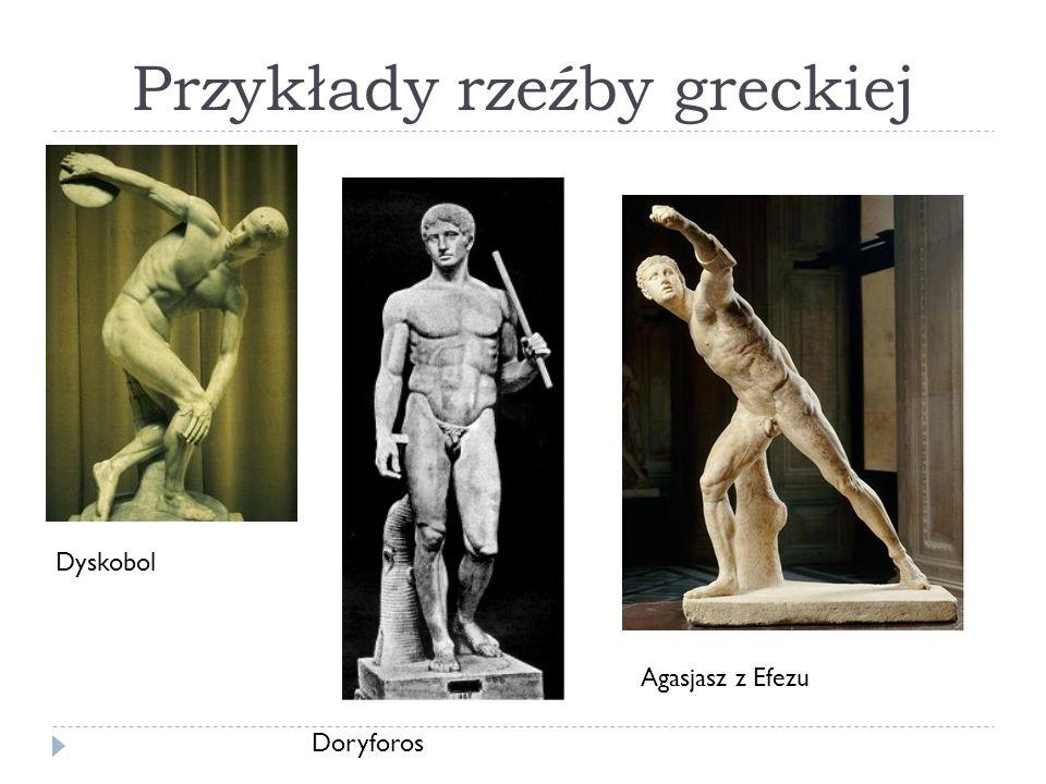 Przykłady rzeźby greckiej