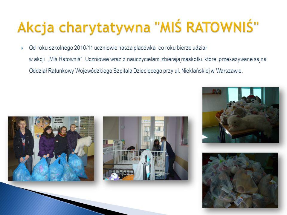 Akcja charytatywna MIŚ RATOWNIŚ