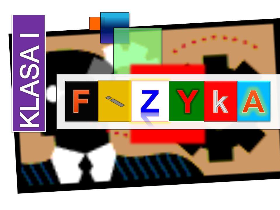 FIZYKA KLASA I F i Z Y k A
