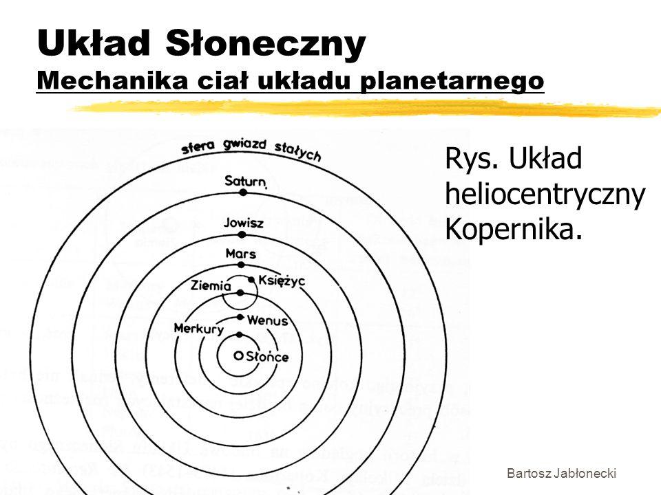 Układ Słoneczny Mechanika ciał układu planetarnego