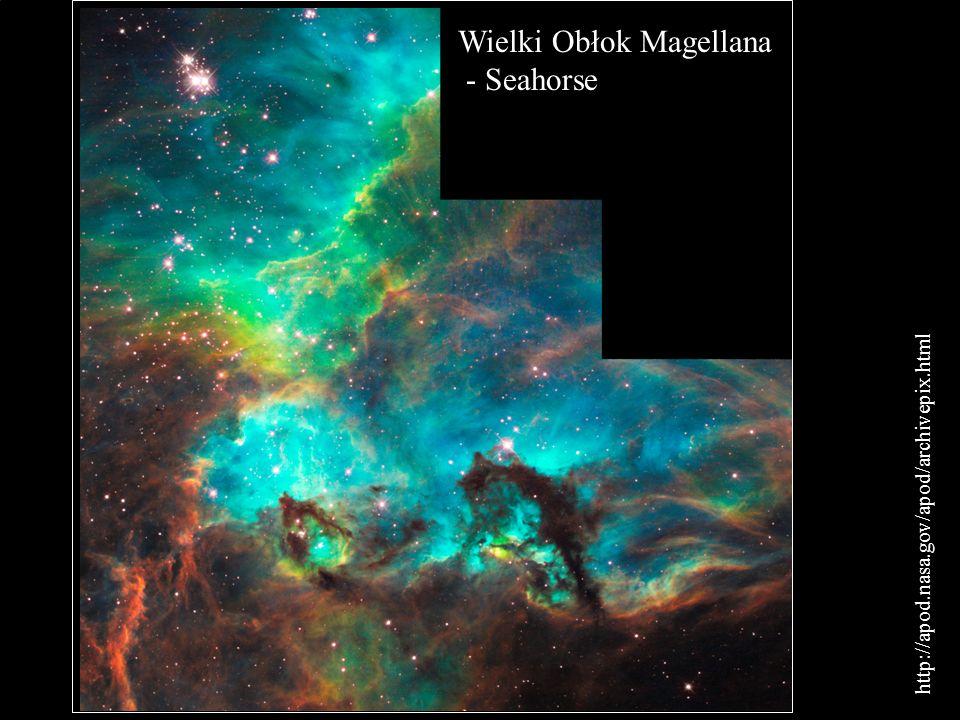 Wielki Obłok Magellana - Seahorse