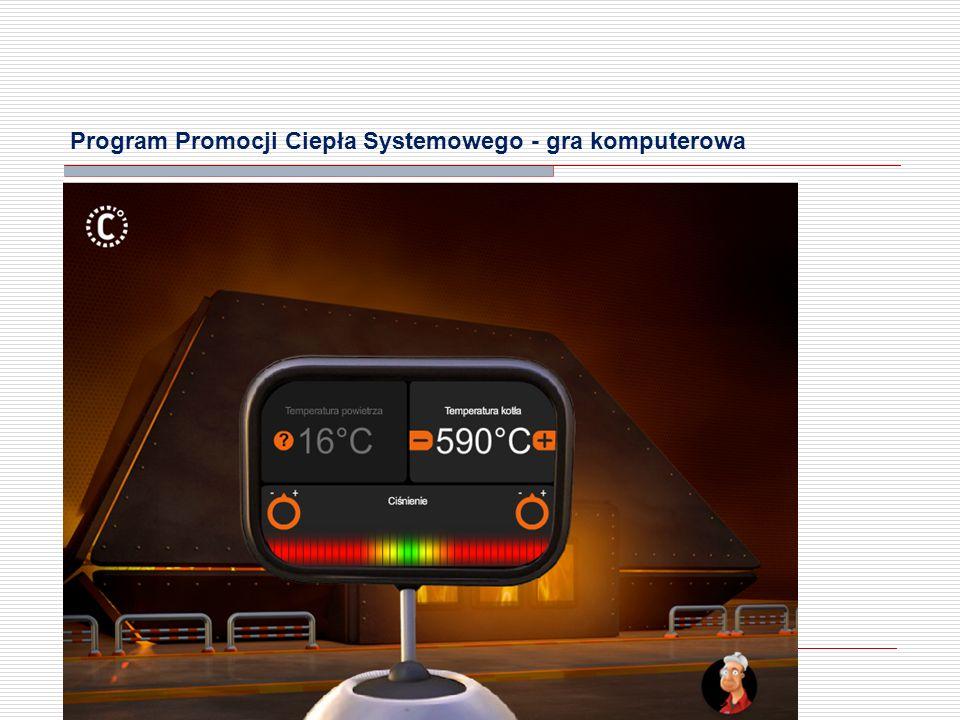 Program Promocji Ciepła Systemowego - gra komputerowa