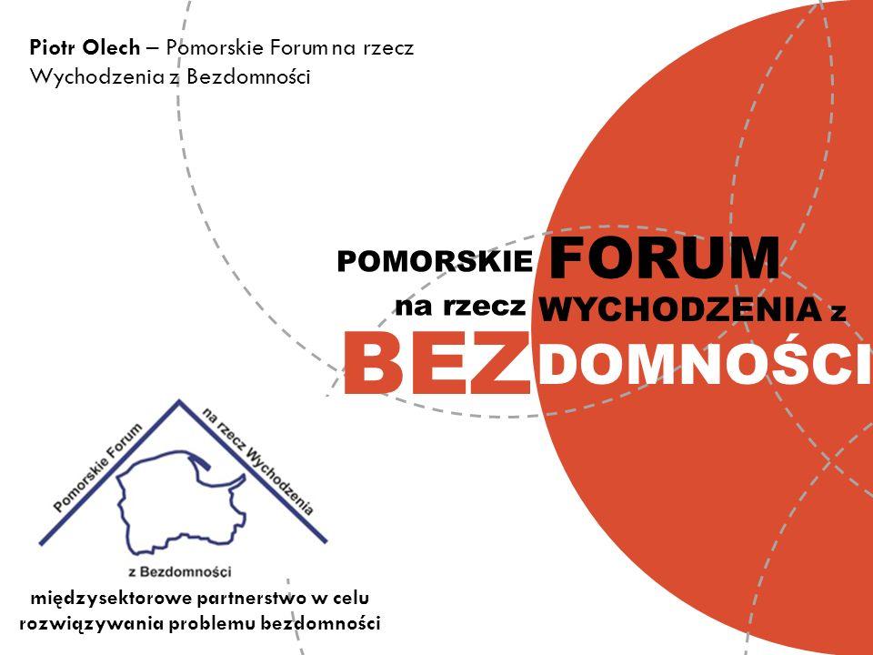 międzysektorowe partnerstwo w celu rozwiązywania problemu bezdomności