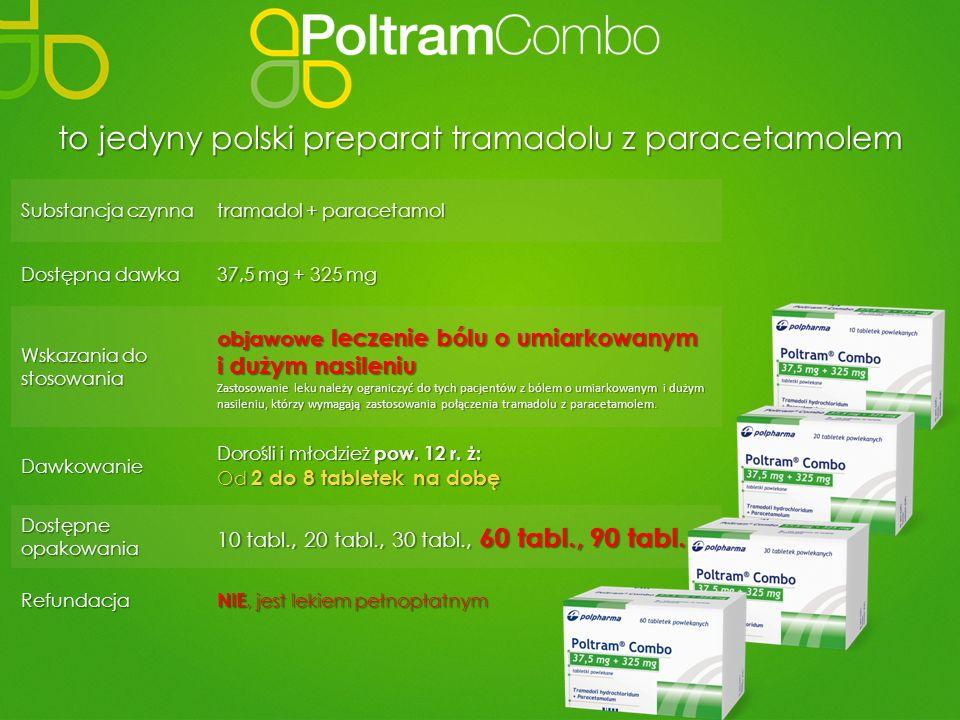to jedyny polski preparat tramadolu z paracetamolem
