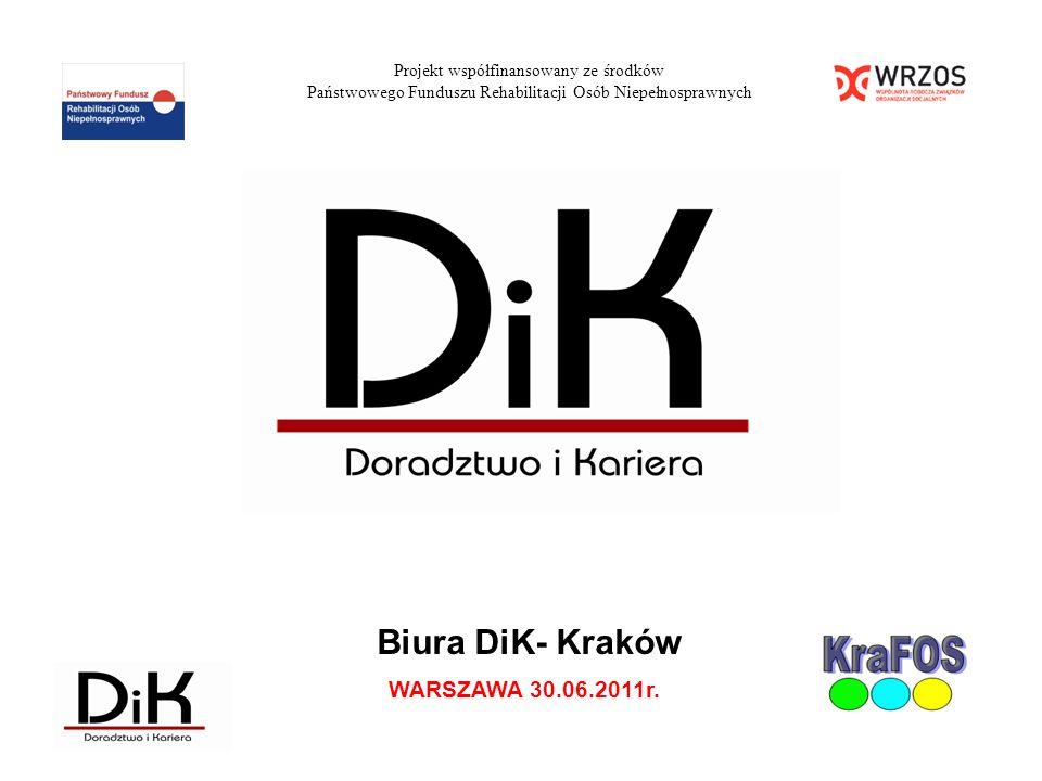 Biura DiK- Kraków WARSZAWA 30.06.2011r.