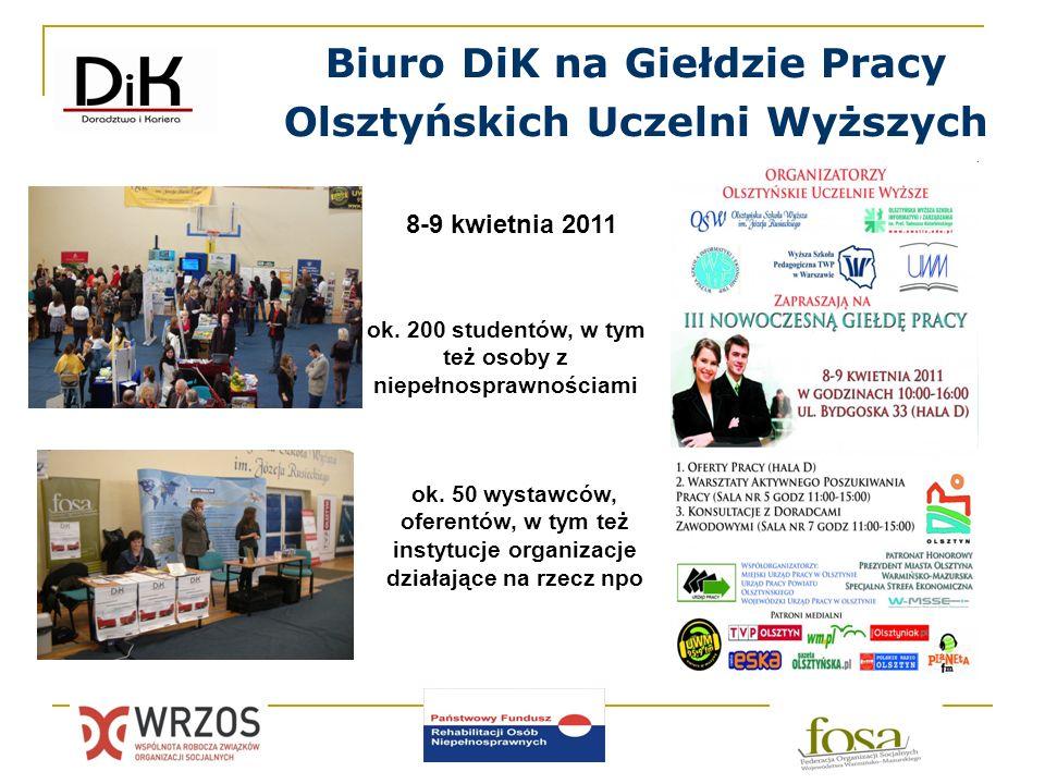Biuro DiK na Giełdzie Pracy Olsztyńskich Uczelni Wyższych