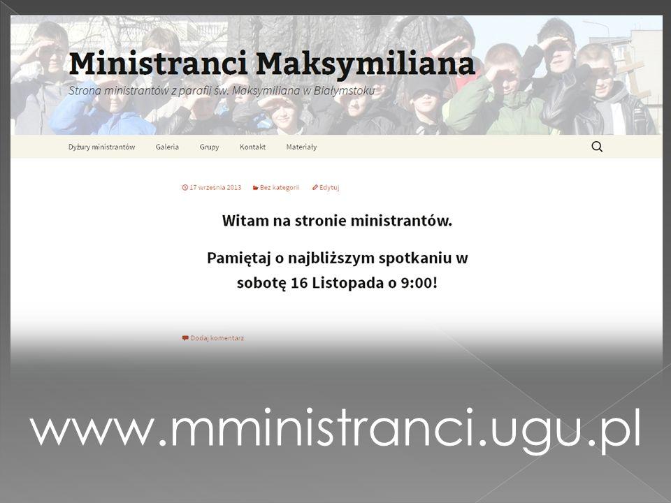 www.mministranci.ugu.pl