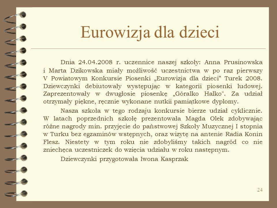 Eurowizja dla dzieci