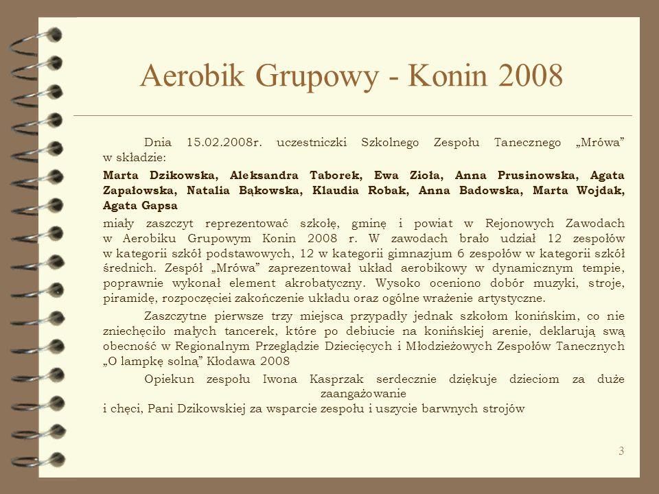 Aerobik Grupowy - Konin 2008
