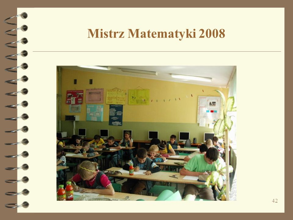 Mistrz Matematyki 2008