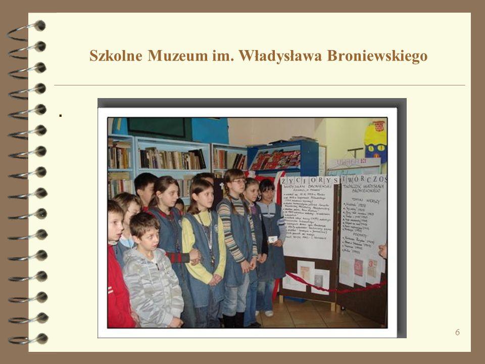 Szkolne Muzeum im. Władysława Broniewskiego