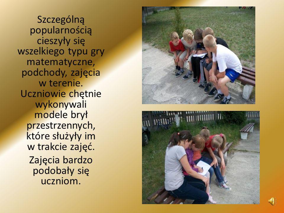 Zajęcia bardzo podobały się uczniom.