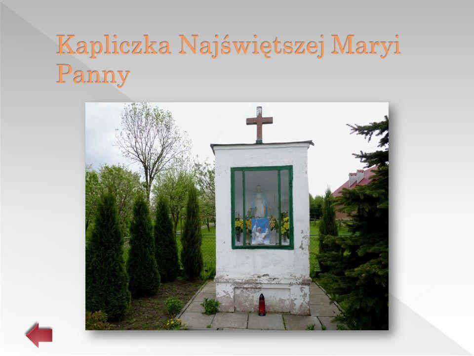 Kapliczka Najświętszej Maryi Panny
