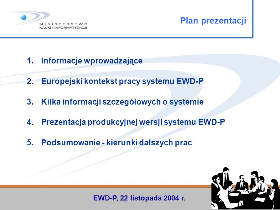 Plan prezentacji Informacje wprowadzające