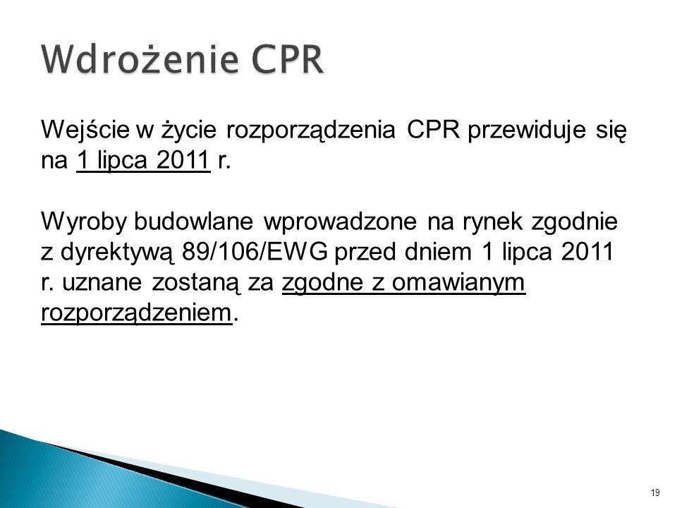 Wdrożenie CPR