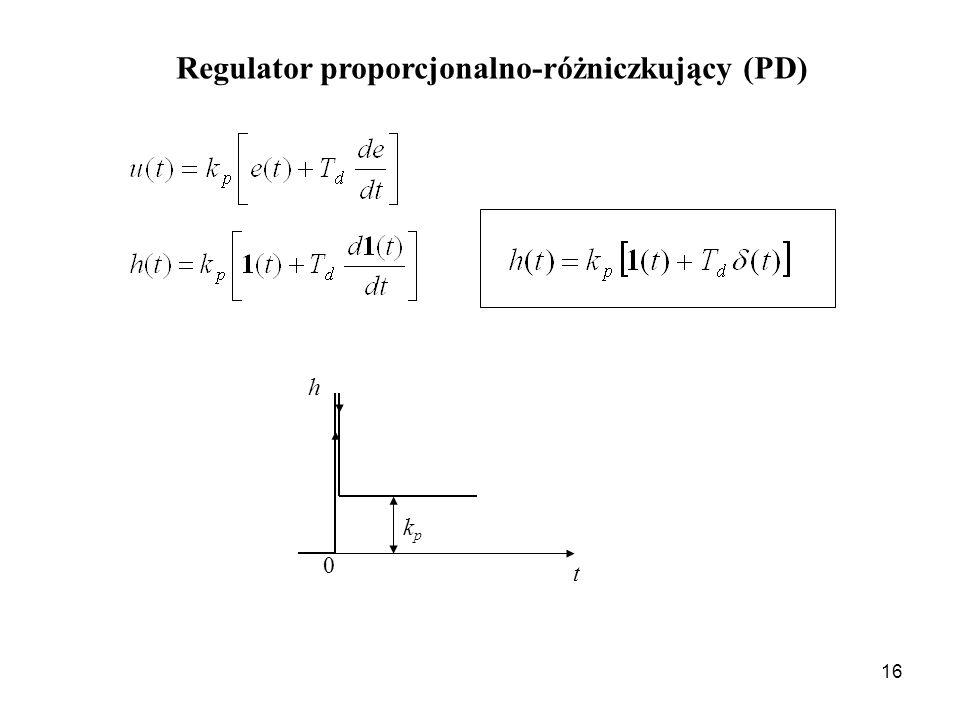 Regulator proporcjonalno-różniczkujący (PD)