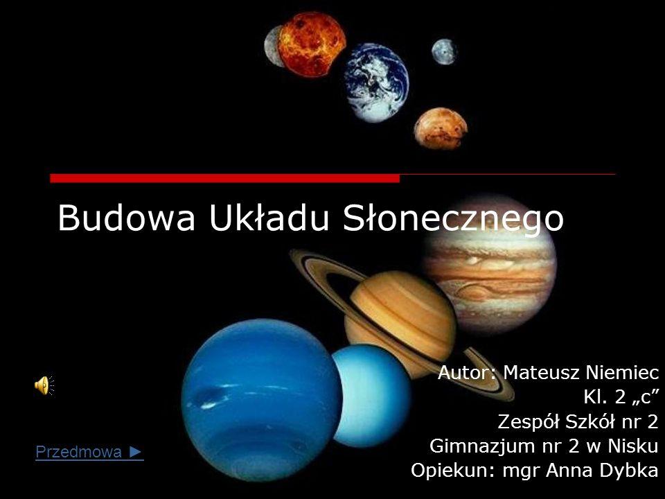 Budowa Układu Słonecznego