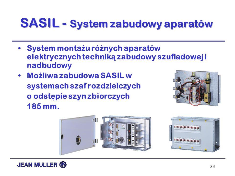 SASIL - System zabudowy aparatów