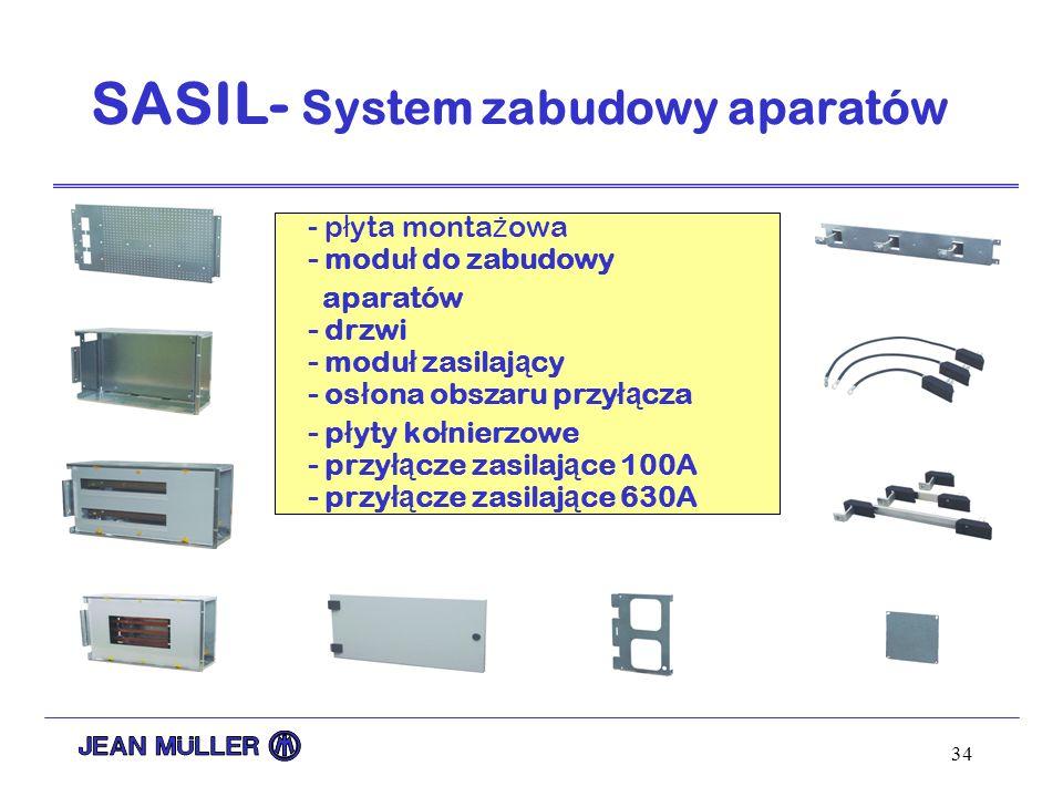 SASIL- System zabudowy aparatów