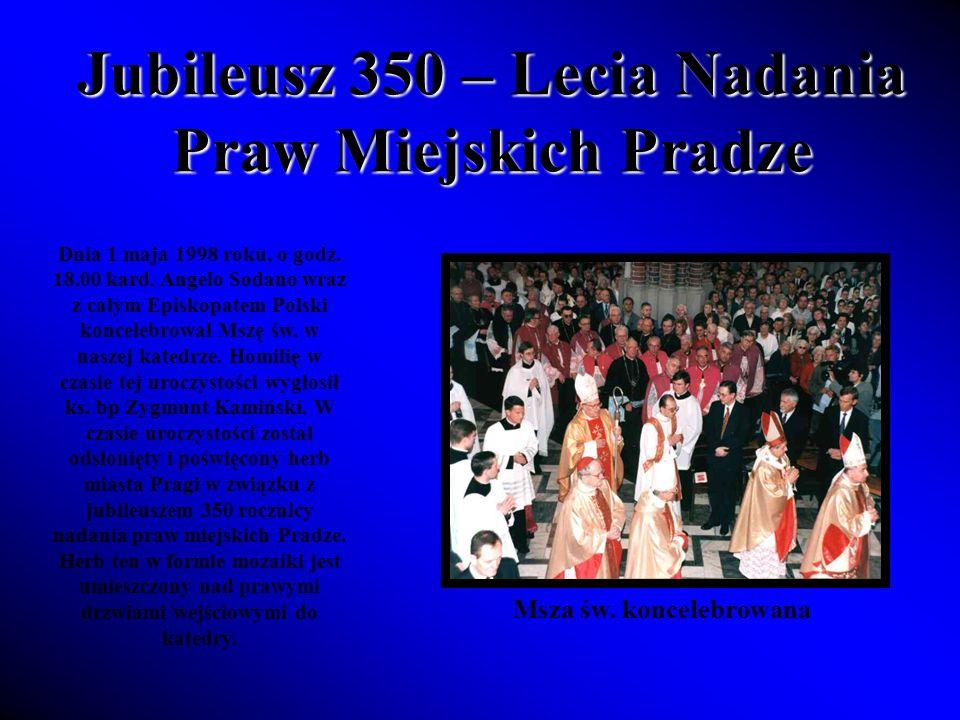 Jubileusz 350 – Lecia Nadania Praw Miejskich Pradze