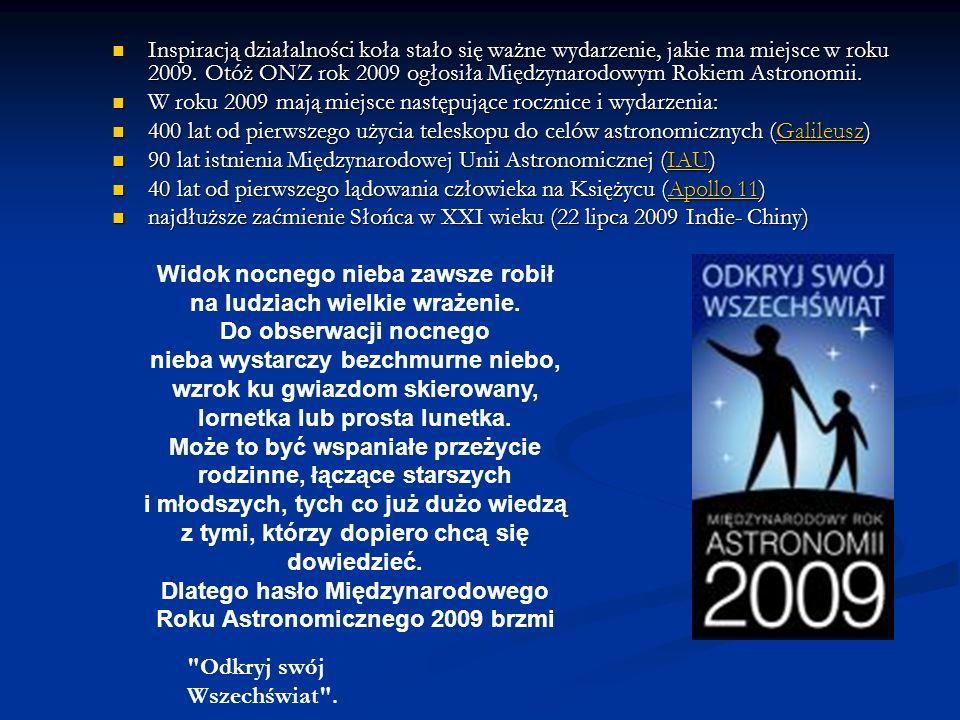 W roku 2009 mają miejsce następujące rocznice i wydarzenia: