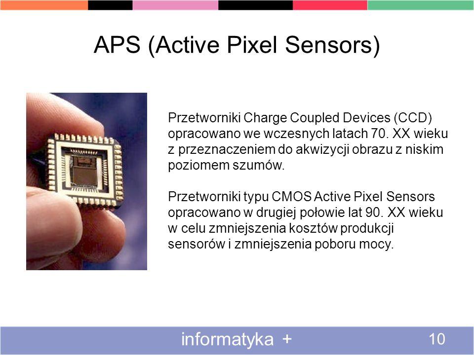 APS (Active Pixel Sensors)