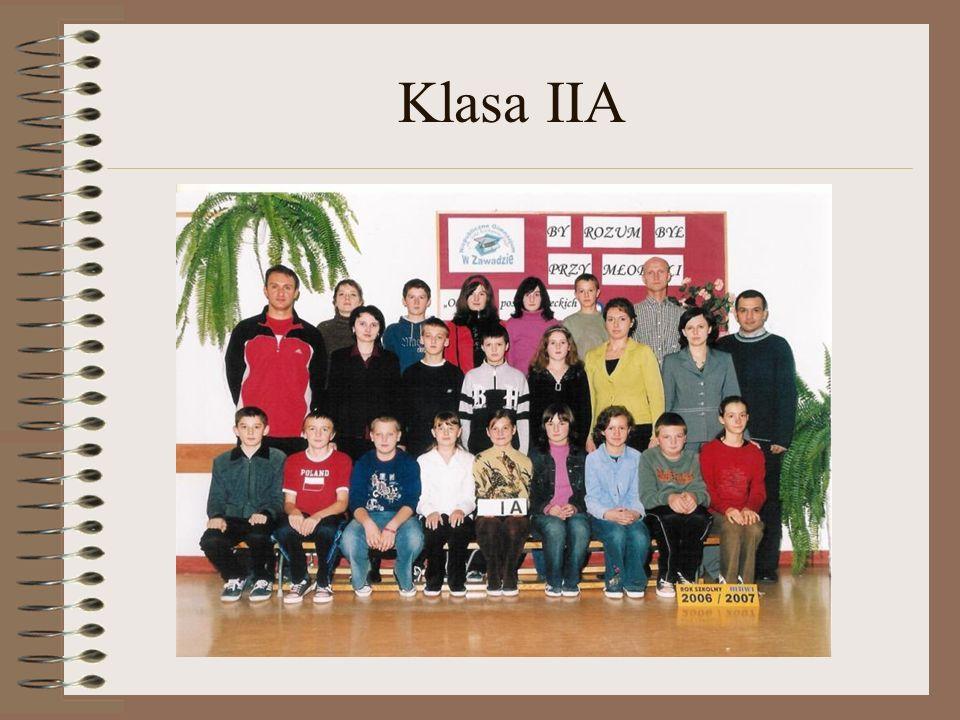 Klasa IIA