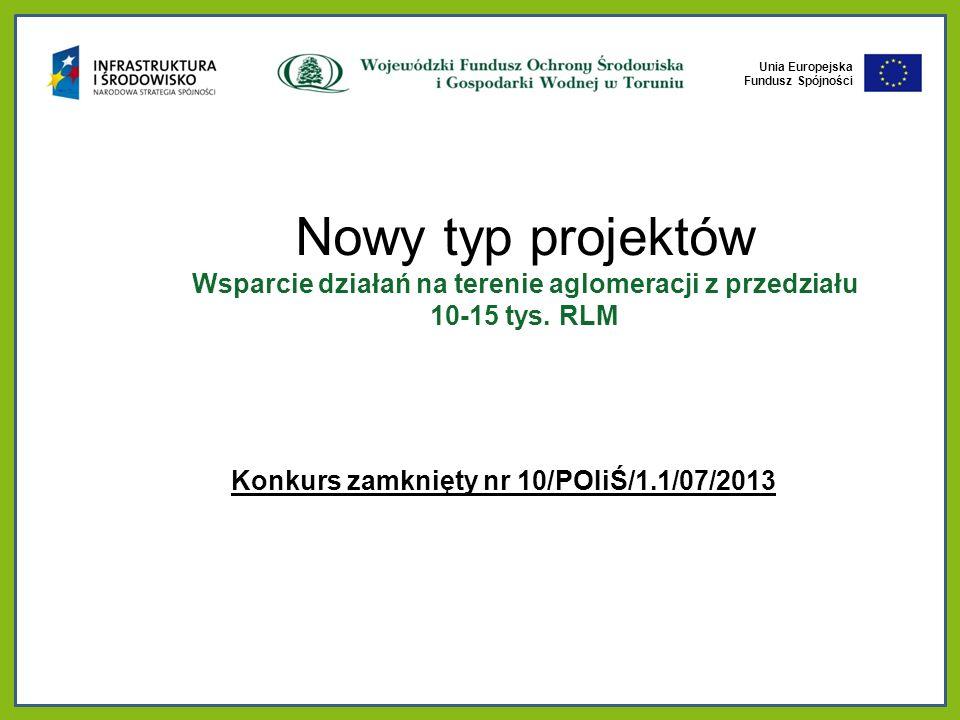 Konkurs zamknięty nr 10/POIiŚ/1.1/07/2013