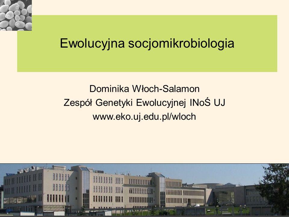Ewolucyjna socjomikrobiologia