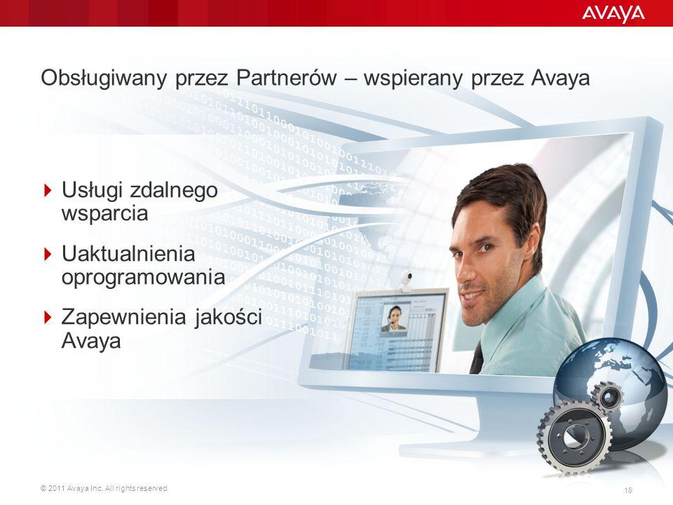 Obsługiwany przez Partnerów – wspierany przez Avaya
