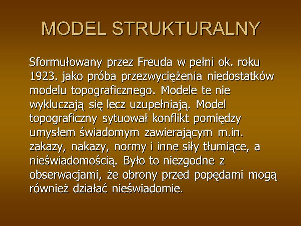 MODEL STRUKTURALNY