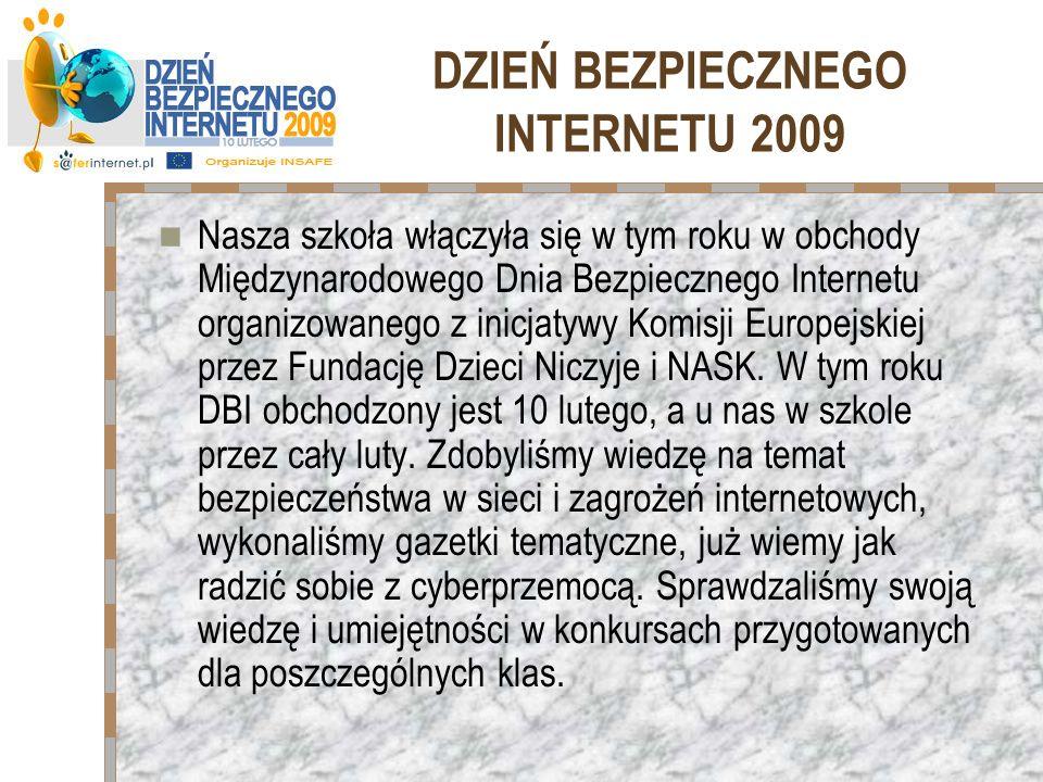 DZIEŃ BEZPIECZNEGO INTERNETU 2009