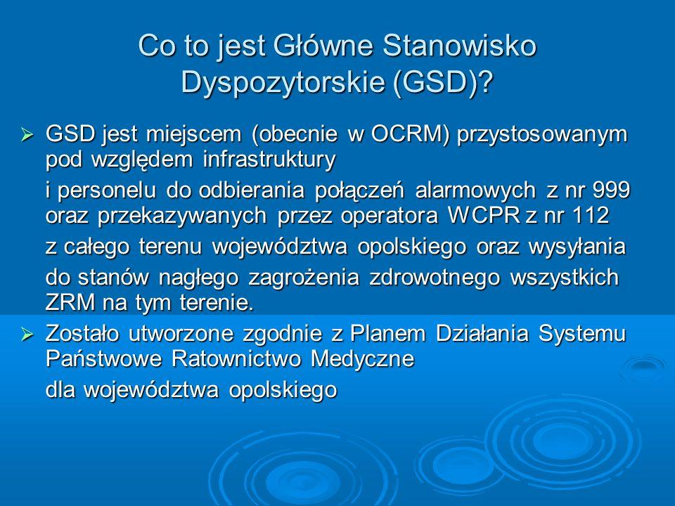 Co to jest Główne Stanowisko Dyspozytorskie (GSD)