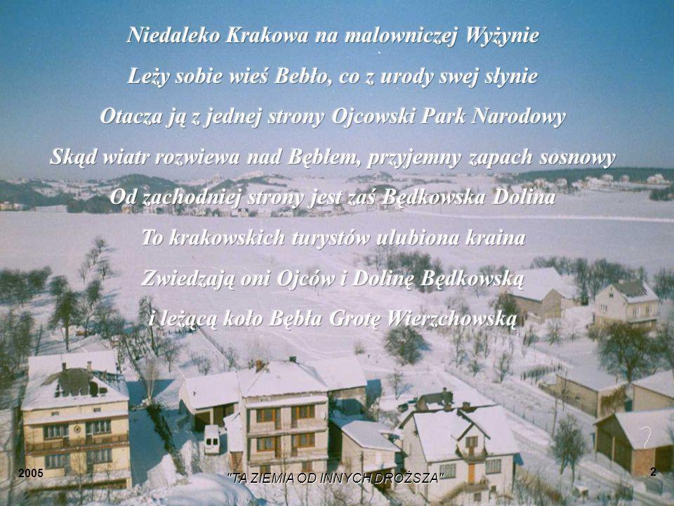 Niedaleko Krakowa na malowniczej Wyżynie