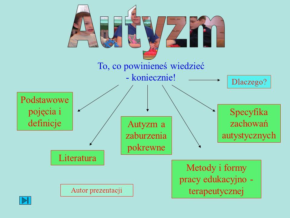 Autyzm To, co powinieneś wiedzieć - koniecznie!
