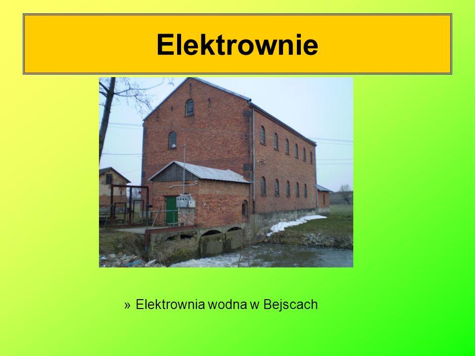 Elektrownie Elektrownia wodna w Bejscach