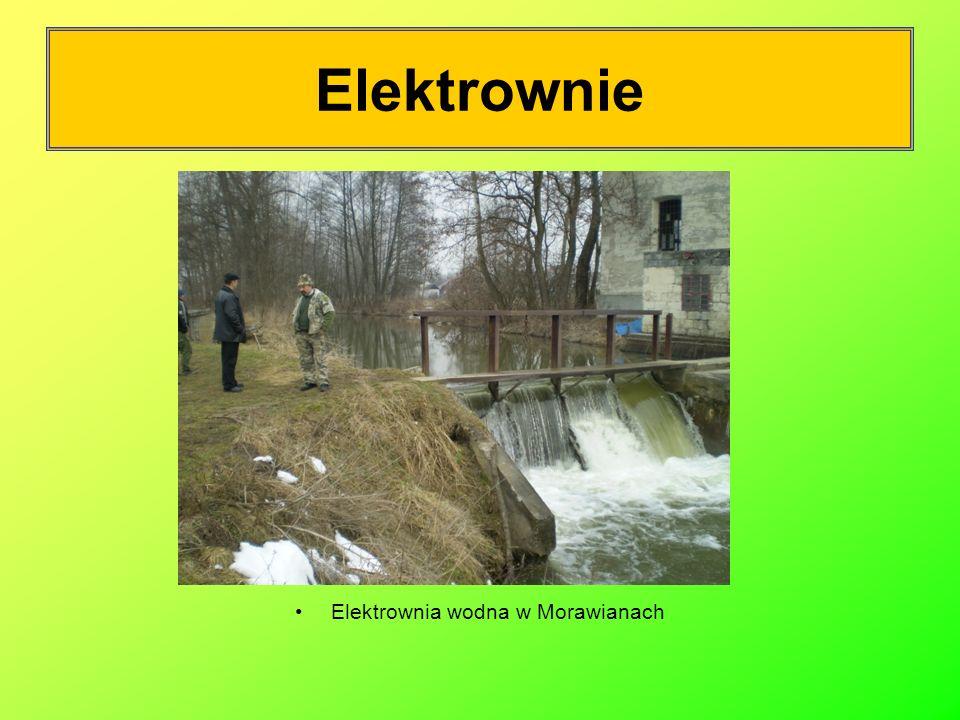 Elektrownia wodna w Morawianach
