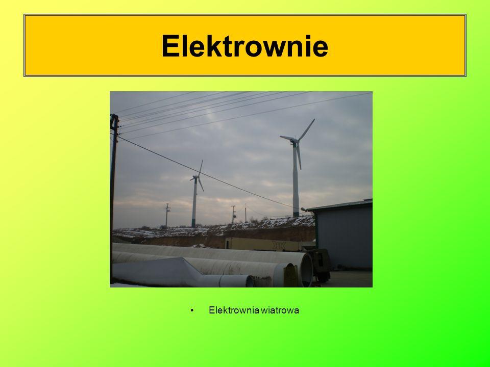 Elektrownie Elektrownia wiatrowa