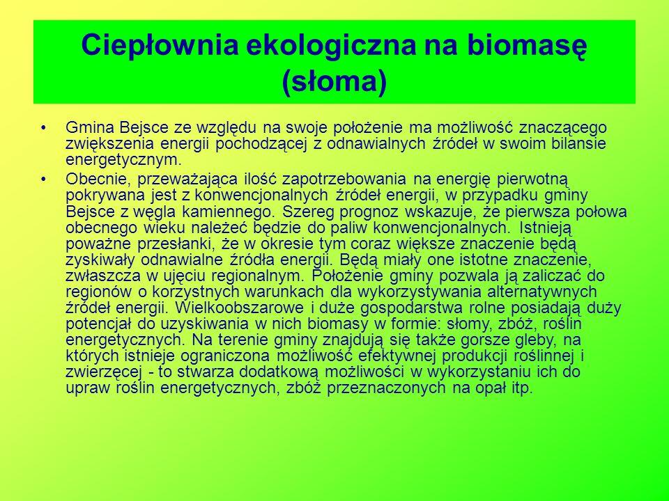 Ciepłownia ekologiczna na biomasę (słoma)
