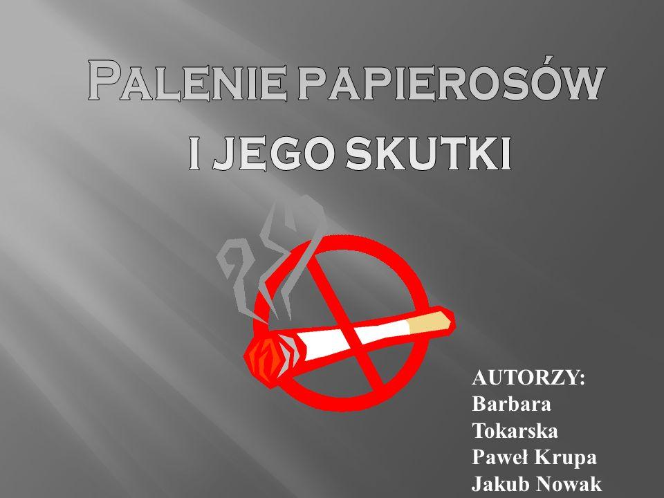 Palenie papierosów i jego skutki