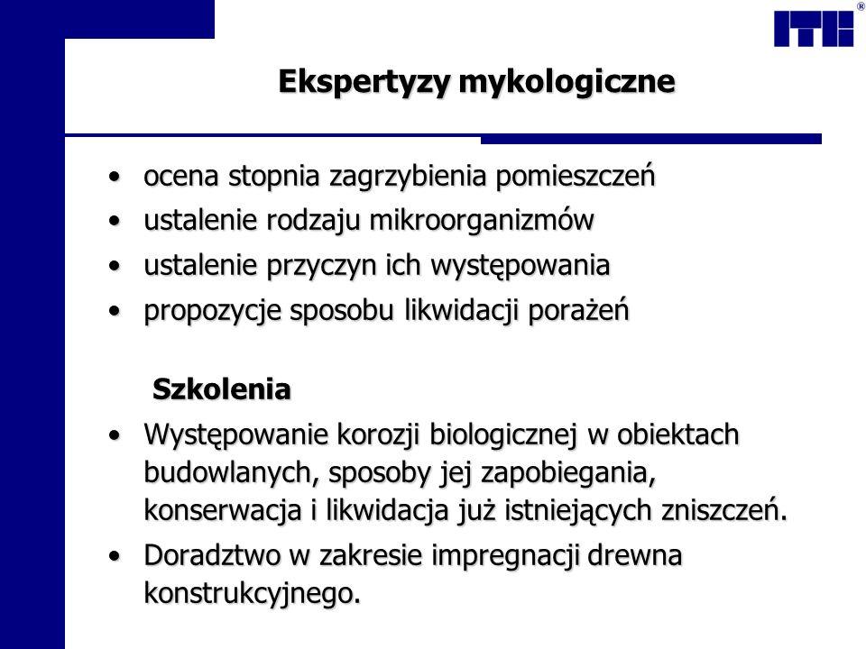 Ekspertyzy mykologiczne