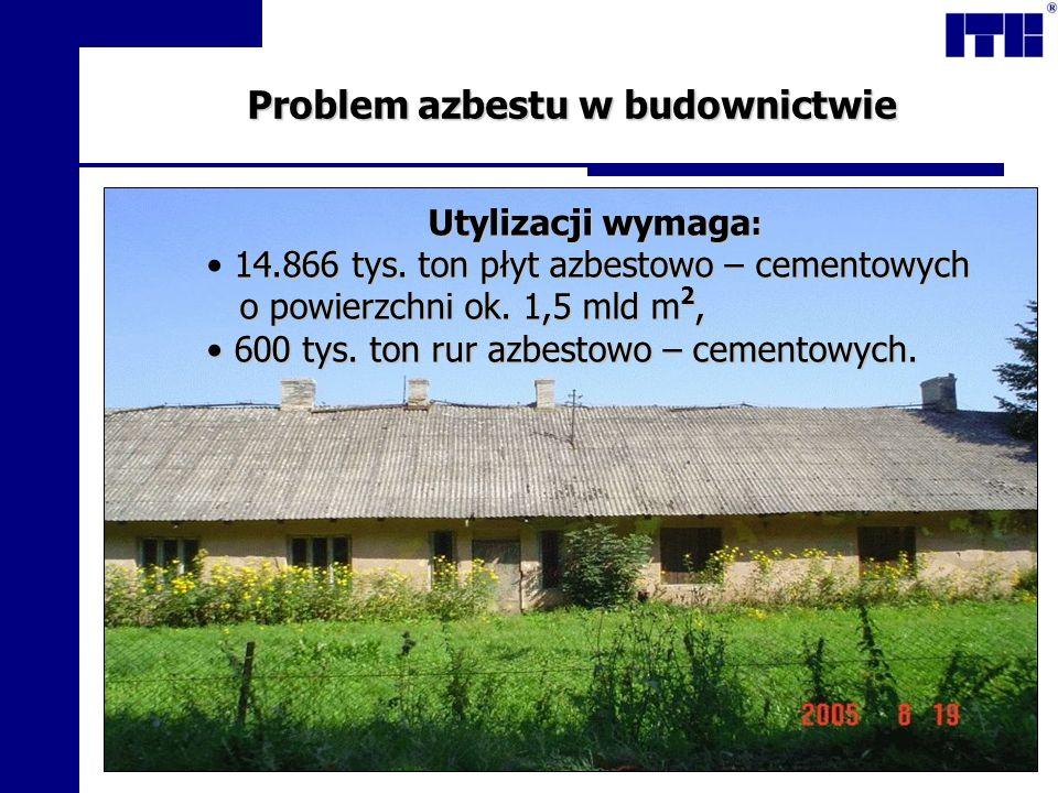 Problem azbestu w budownictwie