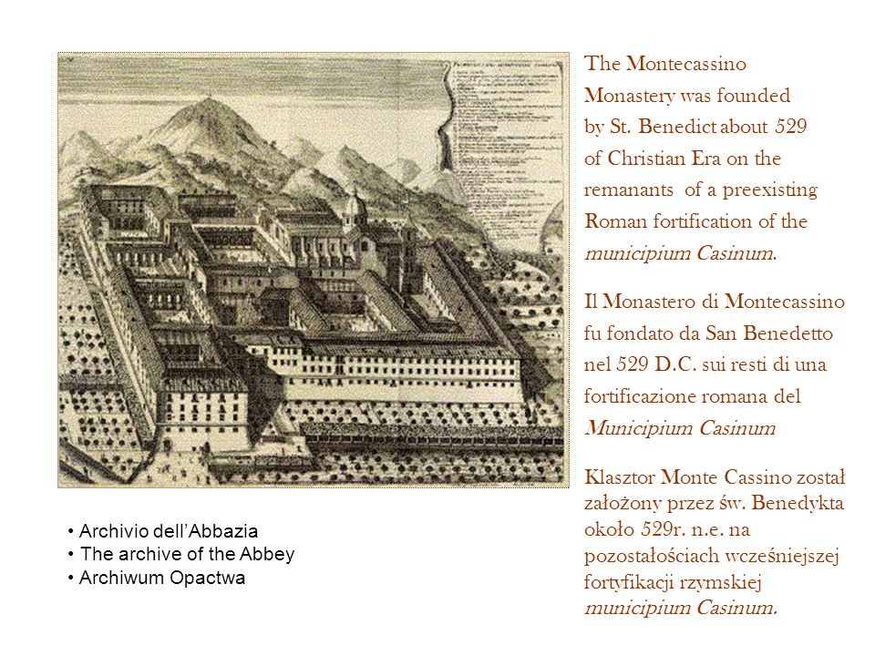 remanants of a preexisting Roman fortification of the